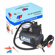 Mini 250 Psi 12 Volt Air Compressor For Car Tyre, Ball / Bike Tyre Pump