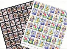 2012 U.S. Christmas Seals & U.S Spring Charity Seals Sheet Collection