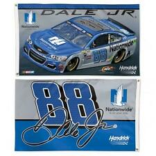 Dale Earnhardt Jr. #88 2016 3' x 5' 2-sided Flag - Free Shipping - Instock