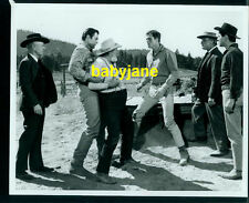 CLINT WALKER RON ELY VINTAGE 8X10 PHOTO 1966 NIGHT OF THE GRIZZLY