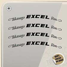 PEGATINA KIT ECXEL TASAGO RIM WHEELS VINYL STICKER DECAL AUFKLEBER AUTOCOLLANT