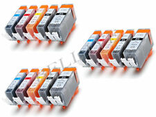 KIT 15 Cartucce Compatibile per Canon CLI 551XL PGI 550XL Pixma iP7250 MX925