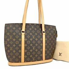 Authentic Louis Vuitton Monogram Babylone Shoulder Shoppers Tote Bag