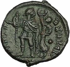 ARCADIUS crowned by Victory 383AD Authentic Ancient Roman Coin i52824
