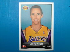 2014-15 Panini NBA Stickers Collection N.360 Steve Nash Los Angeles Lakers