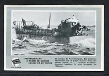C1940's View of an Allied Landing Craft off the Algers Coast