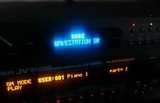 Korg Wavestation SR Oled Display !