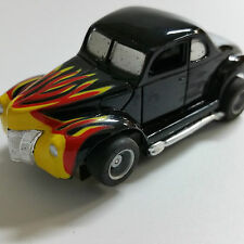 TYCO FLAME COUPE COMPLETE HP7 HO SLOT CAR BRAND NEW.NICE!