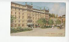 B79349 hotel imperial rome italy   front/back image