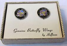 1962 Seattle Worlds Fair BUTTERFLY WINGS Earrings HOFFMAN Space Needle MIB