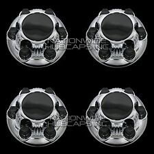 "4 New CHEVY GMC 1500 6 Lug 16"" 17"" CHROME Wheel Center Hub Caps Rim Hole Covers"