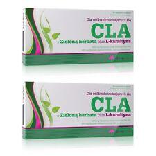 OLIMP CLA & Green Tea plus L-Carnitine 120 Caps (2x60) WEIGHT LOSS DIET PILLS