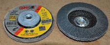 "CGW 42335, 4 1/2"" flap disc, 80 grit, T29, hub, 100% zirconia, Box of 10"