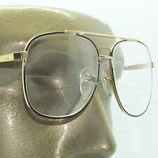 True Half Bifocal Aviator Large Lens Classic Reading Glasses +1.25 Black Frame