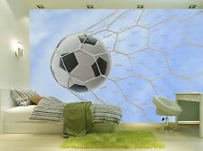 Soccer Ball  Wall Mural Photo Wallpaper GIANT WALL DECOR Paper Poster Free Paste