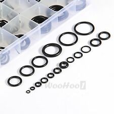 225 x Rubber O Ring O-Ring Washer Seals Assortment Black for Car