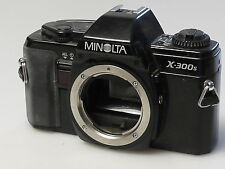 (PRL) MINOLTA X-300S BODY 35 mm SLR SPARE PARTS FOTORIPARATORE REPAIR REPARATION