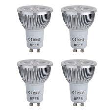 4X GU10 4 LED Lampe Licht Birne Leuchtmittel Warmweiss 220V 3200K ET