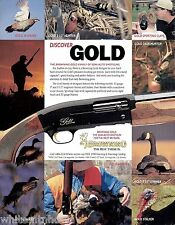 1999 BROWNING Gold Hunter SHOTGUN AD Original Advertising