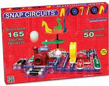 SNAP CIRCUITS SCM-165 MOTION AGES 8+  Over 50 parts and over 165 projects
