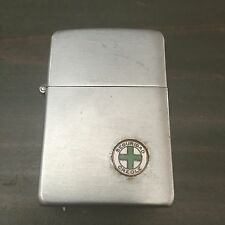 Vintage 1940's Zippo Seguridad Creole Chrome Lighter 2032695