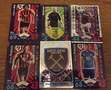 Match Attax 2016/17 -402 Cards Inside Binder With Kane Gold Card