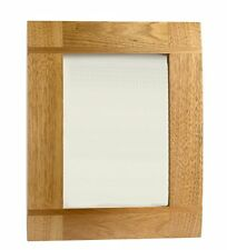 Wooden Oak Inlaid Picture Photo Frame - Portrait or Landscape - 6 x 8 inches