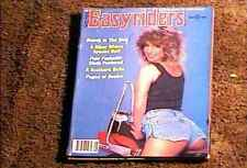 EASYRIDERS MAGAZINE SEPT 1984 VERY FINE BIKER HOT BABES CHICKS MOTORCYCLES
