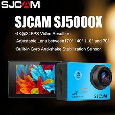 ORIGINALE SJCAM SJ5000X Elite WiFi 4K 2K30fps Gyro Sports DV 2.0 LCD Waterproof