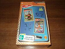 SET EYEPET & INVIZIMALS  & CAMERA PSP (new sealed two english game & camera PSP)