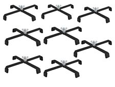 8 x Par Can Floor Stand Black Metal Lighting Stand Uplighting DJ Disco Light