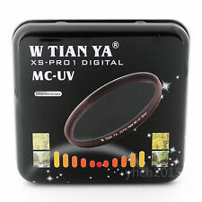 W-TIANYA XS-Pro 1D 77mm MC UV Filter,18 Layers of Coating Camera MC UV Lenses