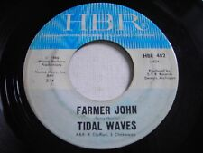 Tidal Waves Farmer John / She Left Me All Alone 1966 45rpm VG+ Garage