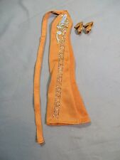 Vintage 1970 Mego Cher Outfit Gown of Paradise Designer Collection Bob Mackie