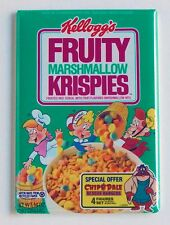 Fruity Marshmallow Rice Krispies FRIDGE MAGNET (2 x 3 inches) cereal box