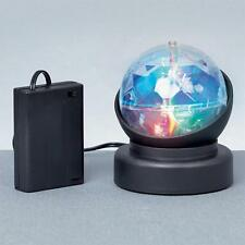 Christmas LED Battery 10cm Revolving Crystal Ball Projector