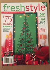 Fresh Style DIY Holiday Decor Christmas Easy Project Nov/Dec 2013 FREE SHIPPING!