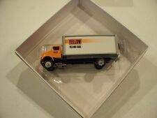 YELLOW VAN YES WE CAN WINROSS TRACTOR TRAILER DIECAST TRUCK
