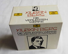 Alban BERG Published works RARE OOP JAPAN only 10xCD Box DGG POCG-9066/75 (1991)