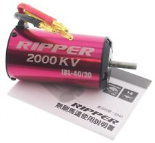 ACE RIPPER 2000kV IBL-40/20 BRUSHLESS MOTOR 6S LiPo - Thunder Tiger 1/8 eMTA G2