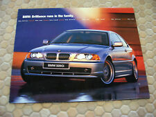 BMW OFFICIAL 3 5 7 Z3 M X5 SERIES FULL LINE SALES BROCHURE 2000 USA EDITION