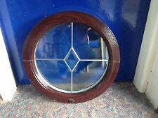 UPVC PVC Window plastic Round arched circular  double glazed  Windows