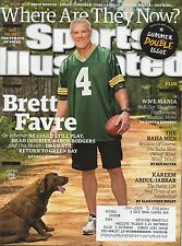 BRETT FAVRE Sports Illustrated GREEN BAY PACKERS July 1 2015 7/13/15 JABBAR WWE