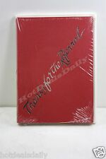 12 PACK RED THANKS FOR THE REFERRAL BUSINESS MAIL CARDS GREETING INVITATION