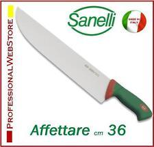 COLTELLO RIGIDO PROFESSIONALE SANELLI per AFFETTARE lama cm 36 RISTORANTE CUCINA
