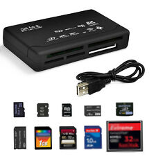 USB 2.0 All in 1 Multi Memoria Adaptador tarjeta Micro SD SDHC TF M2 MMC