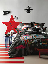 Viva Las Vegas - Queen Quilt Cover Set - Get lucky in Las Vegas bed linen