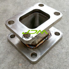 304 T3 to T4 T3-T4 Turbo Charger Turbo Manifold Flange Adapter Swap Conversion