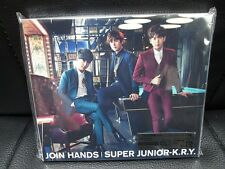 JOIN HANDS SUPER JUNIOR - K.R.Y. (First Press Limited Ed./CD+DVD) w/photo card