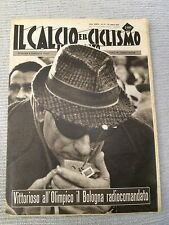 Il calcio e il ciclismo illustrato 1965 N° 13 Bologna Bernardini. 23/6